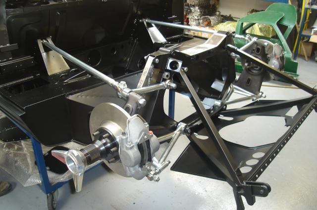 Gelscoe Motorsport U2019s Pre 65 Gt40 Chassis 3